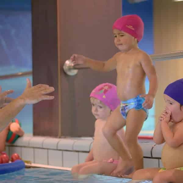 Ejercicios natacion bebes