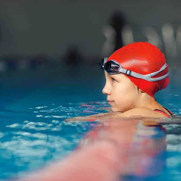 Cursos de natación para niños