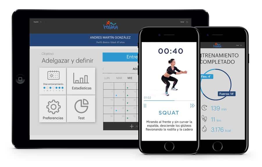 Aplicación coaching deportivo