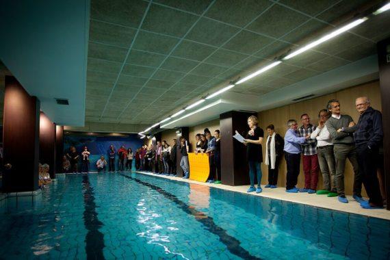 Escuela natación Hydra, 30 años enseñando a nadar en Pamplona