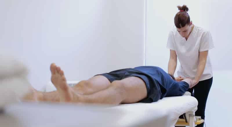 Evaluación fisioterapeuta