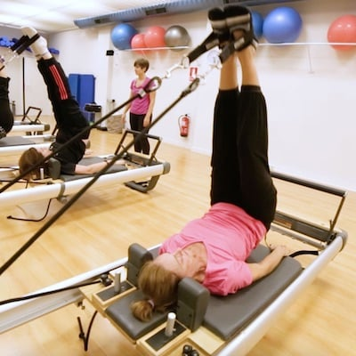 Actividad de pilates