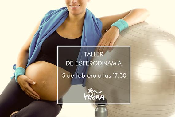 5 de febrero taller de ESFERODINAMIA para embarazadas