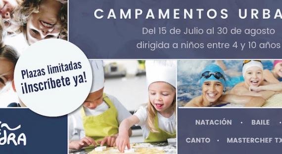 Novedad. Campamentos Urbanos en Pamplona